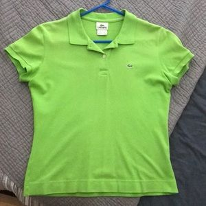 Lacoste women's polo, classic fit